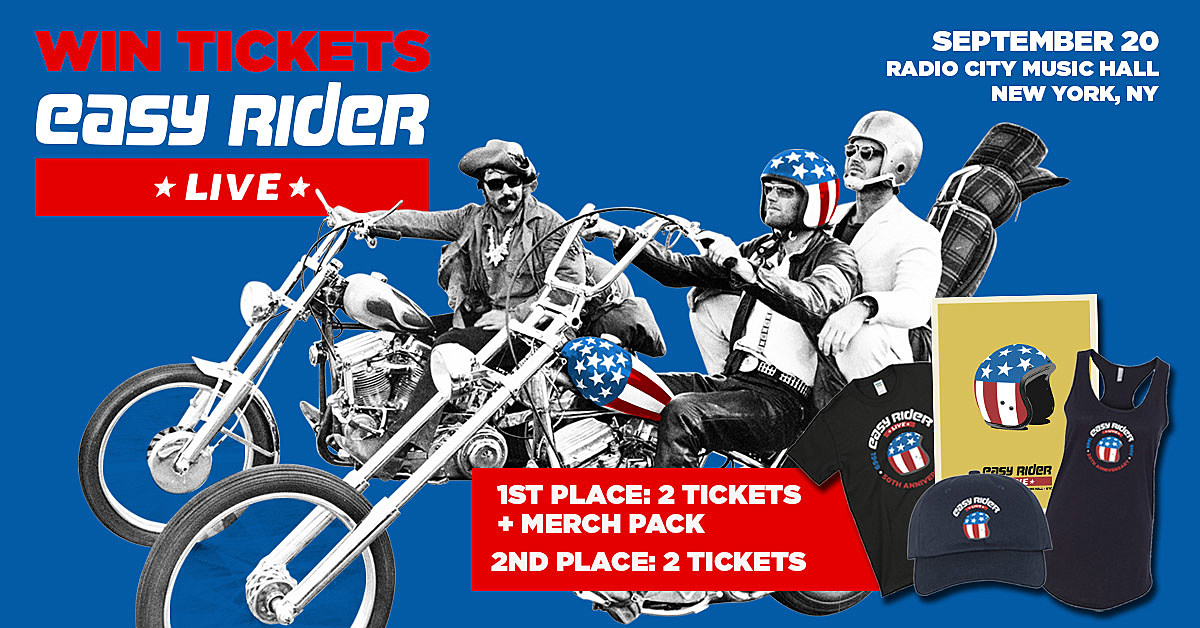 'Easy Rider Live' will honor Peter Fonda's memory – win tix merch pack!