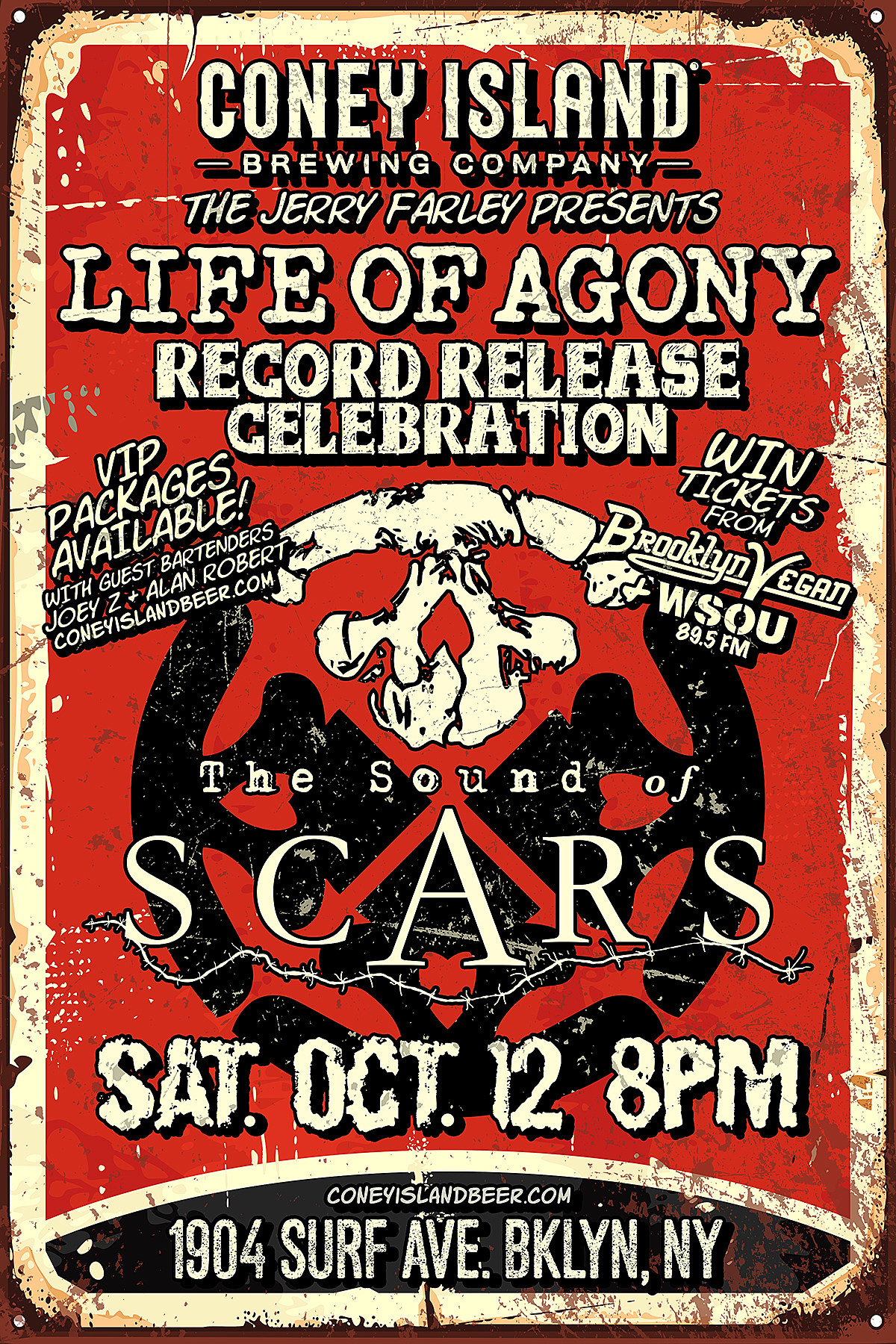Life of Agony Record Release show
