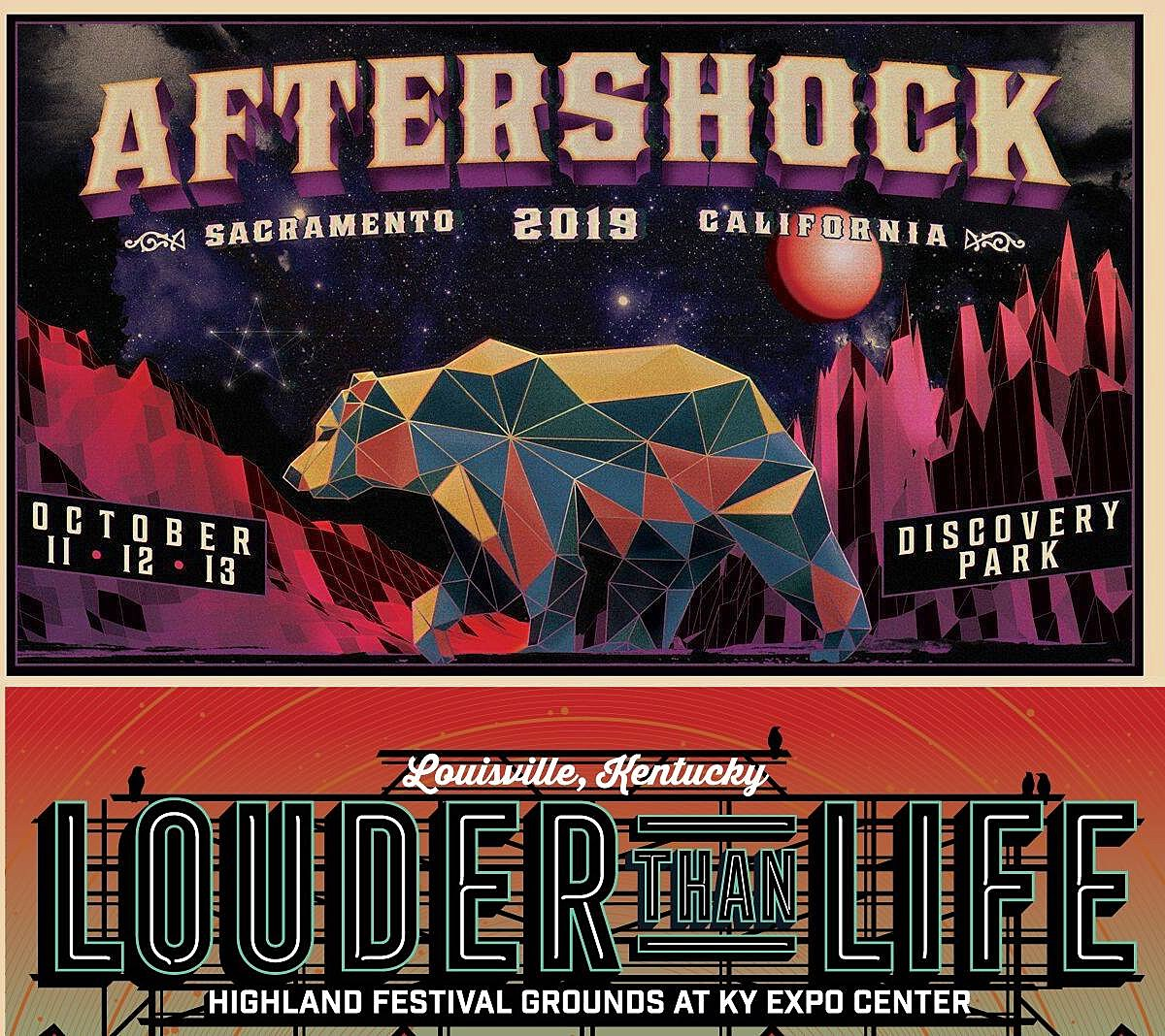 Aftershock and Louder Than Life reveal 2019 set times