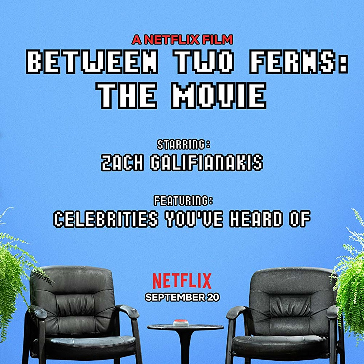 Zach Galifianakis' 'Between Two Ferns: The Movie' debuts on Netflix this month (watch the trailer)
