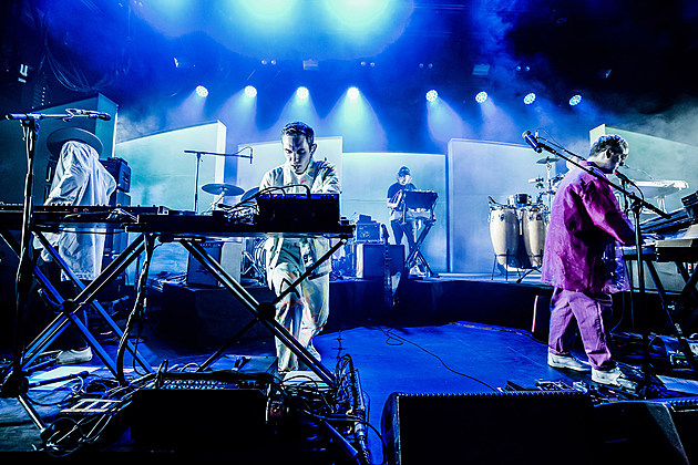 Hot Chip began North American tour at Brooklyn Steel w/ Holy