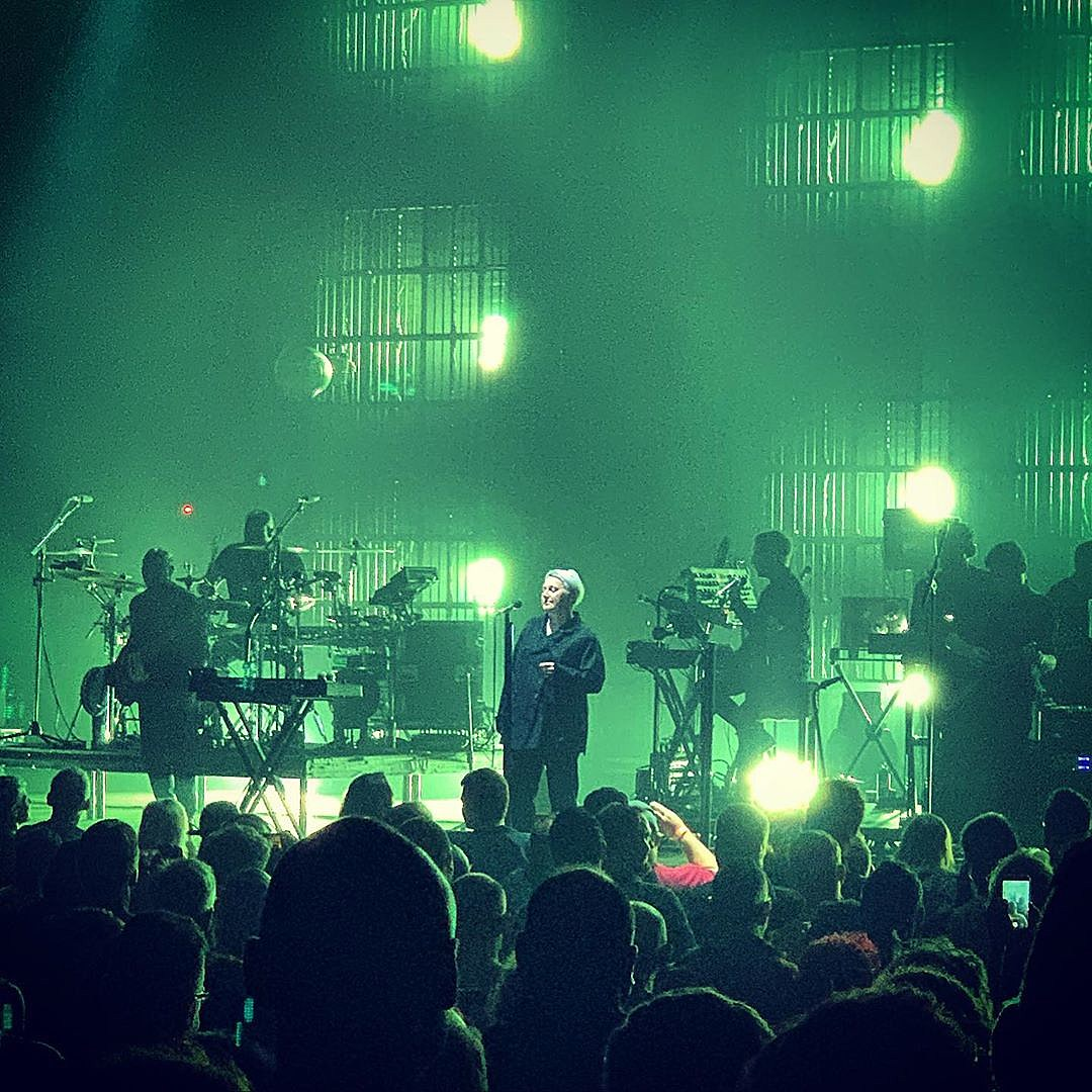 Massive Attack with Liz Fraser in Detroit