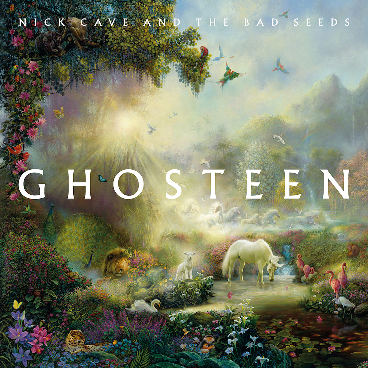 review: Nick Cave's 'Ghosteen' finds beauty and hope after darkness