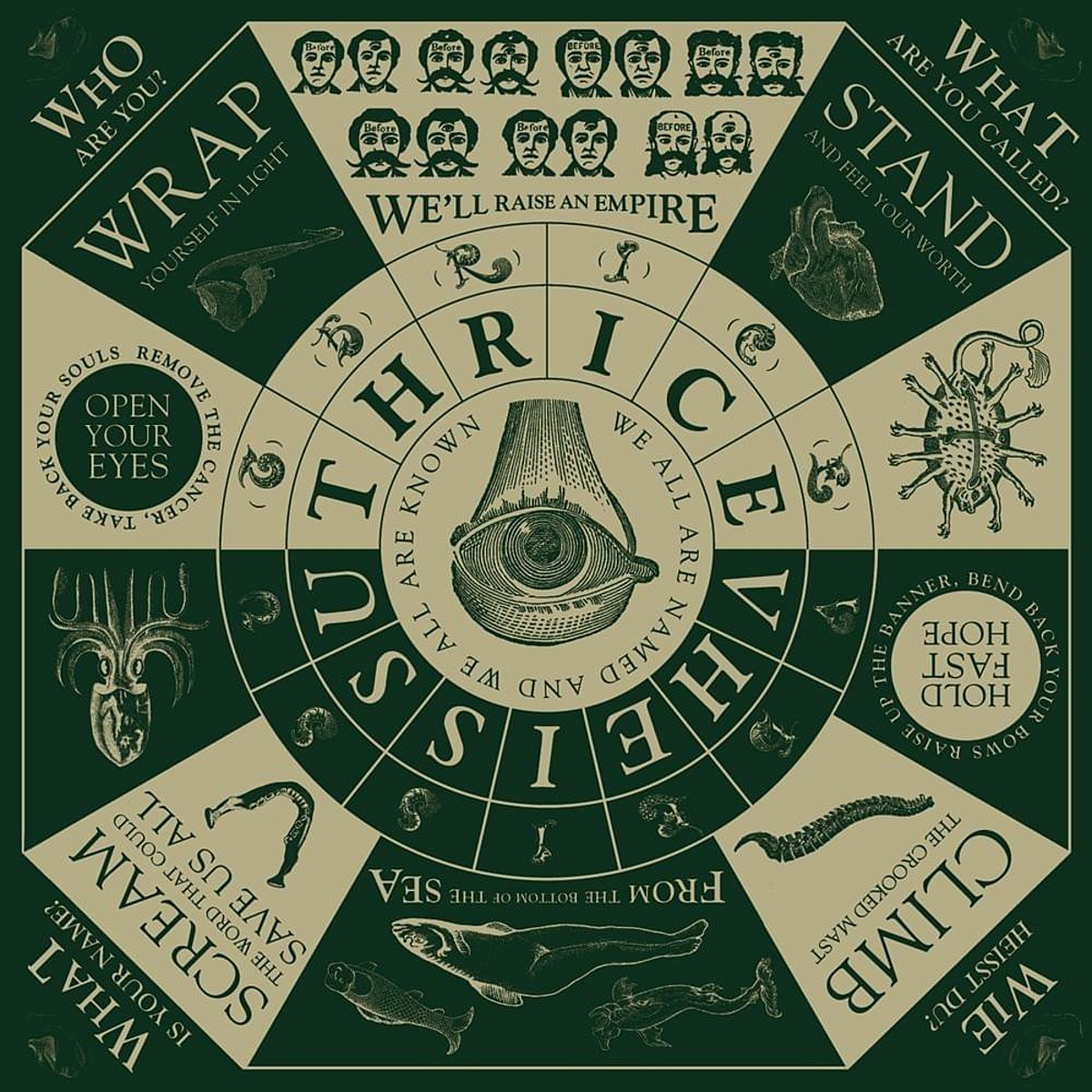 Thrice announce 'Vheissu' tour with mewithoutYou, Drug Church Holy Fawn