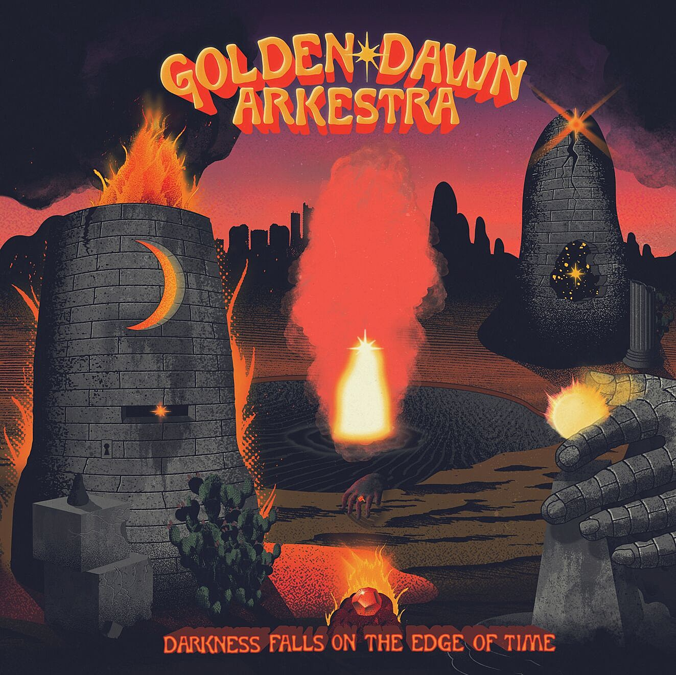Golden Dawn Arkestra Darkness Falls On The Edge of Time