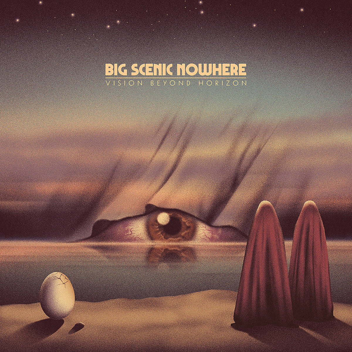"Big Scenic Nowhere releasing 'Vision Beyond Horizon' LP (stream ""The Glim"")"