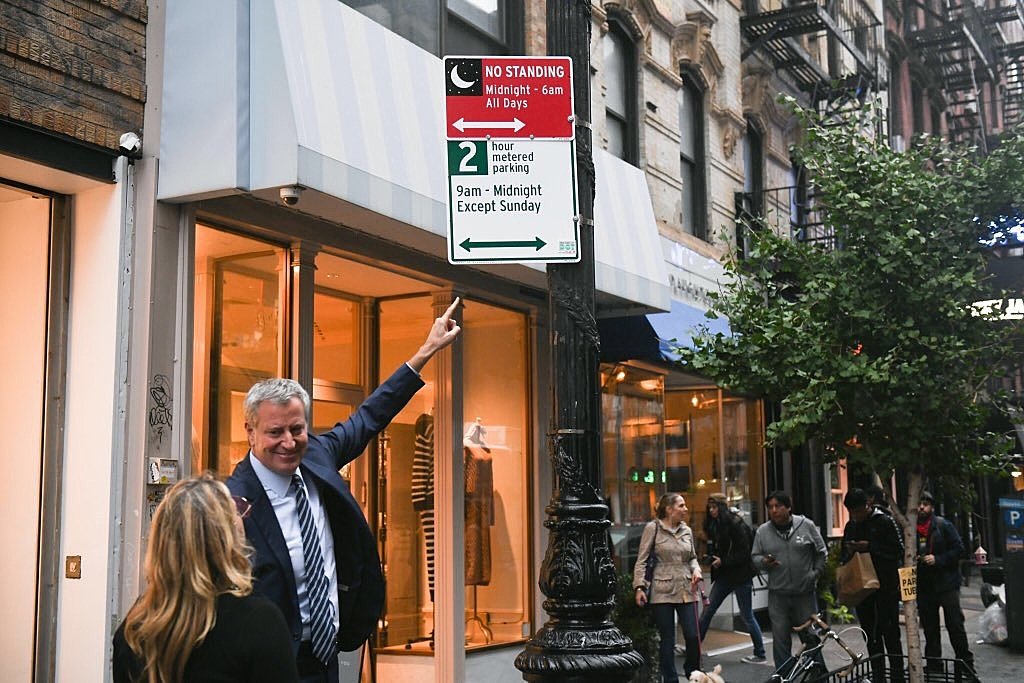 Bill de Blasio Lower East Side nightlife plan