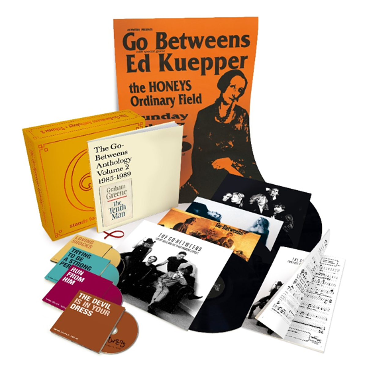The Go-Betweens announce Vol. 2 of archival 'G Stands for Go-Betweens' box set series