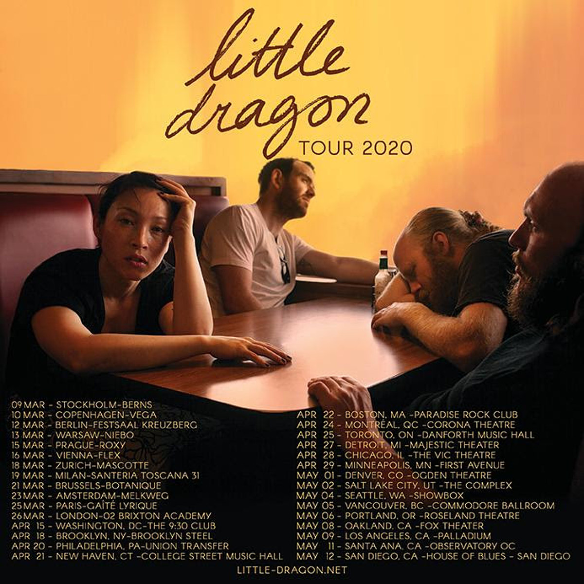 "Little Dragon share new single ""Tongue Kissing,"" announce 2020 tour"