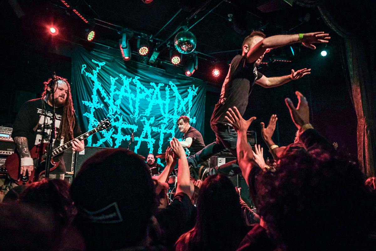 review/pics: Municipal Waste, Napalm Death, Sick Of It All, Dropdead, Take Offense in NYC