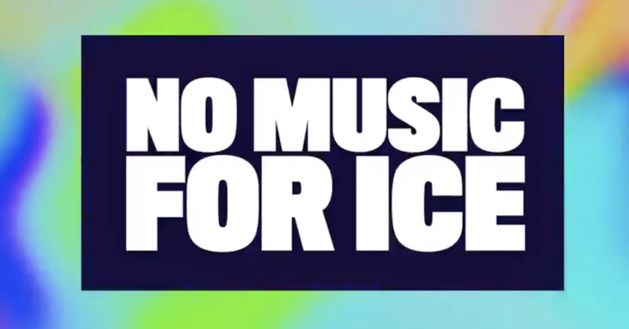 No Music for Ice