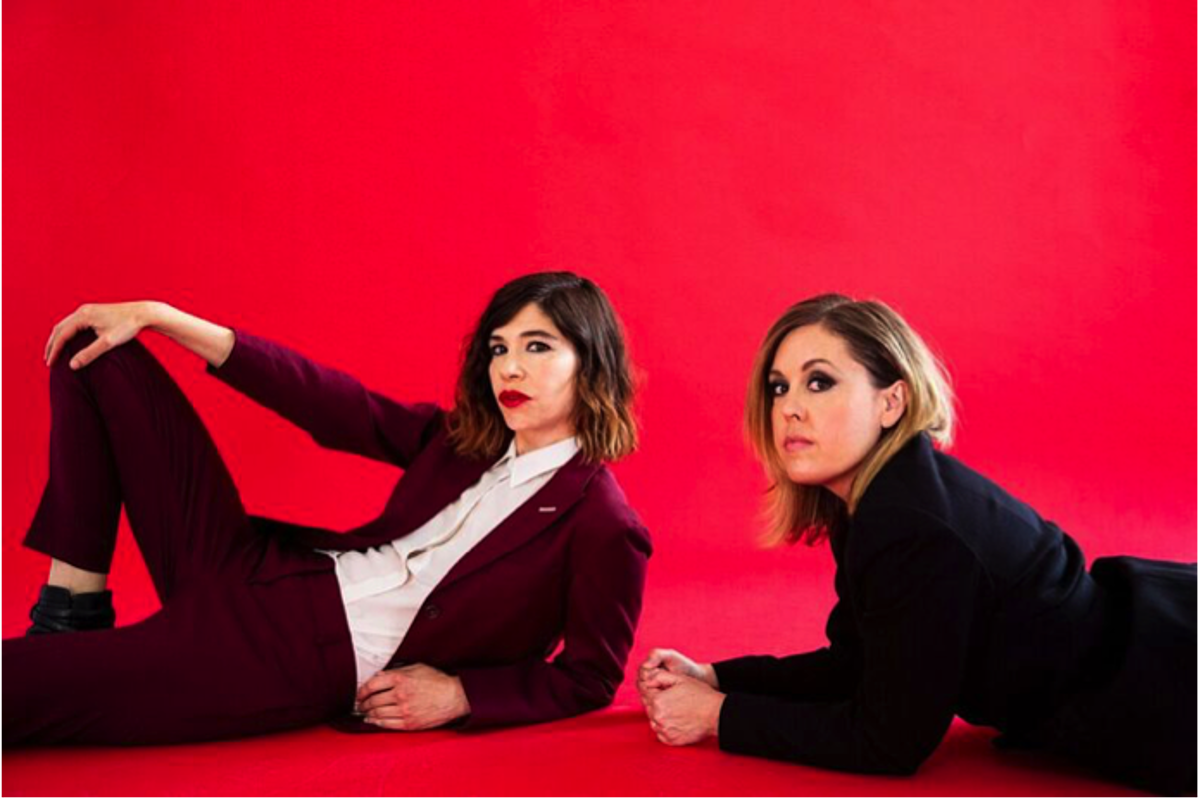 """Sleater-Kinney share new song """"Animal""""; tour starts next week"""