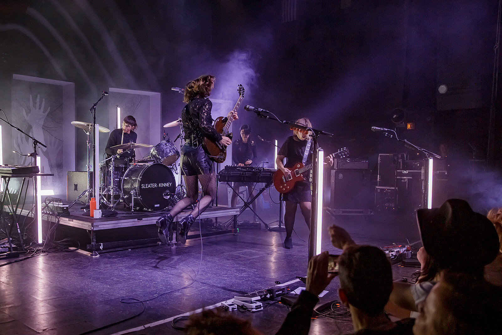 Sleater-Kinney at Riviera Theatre