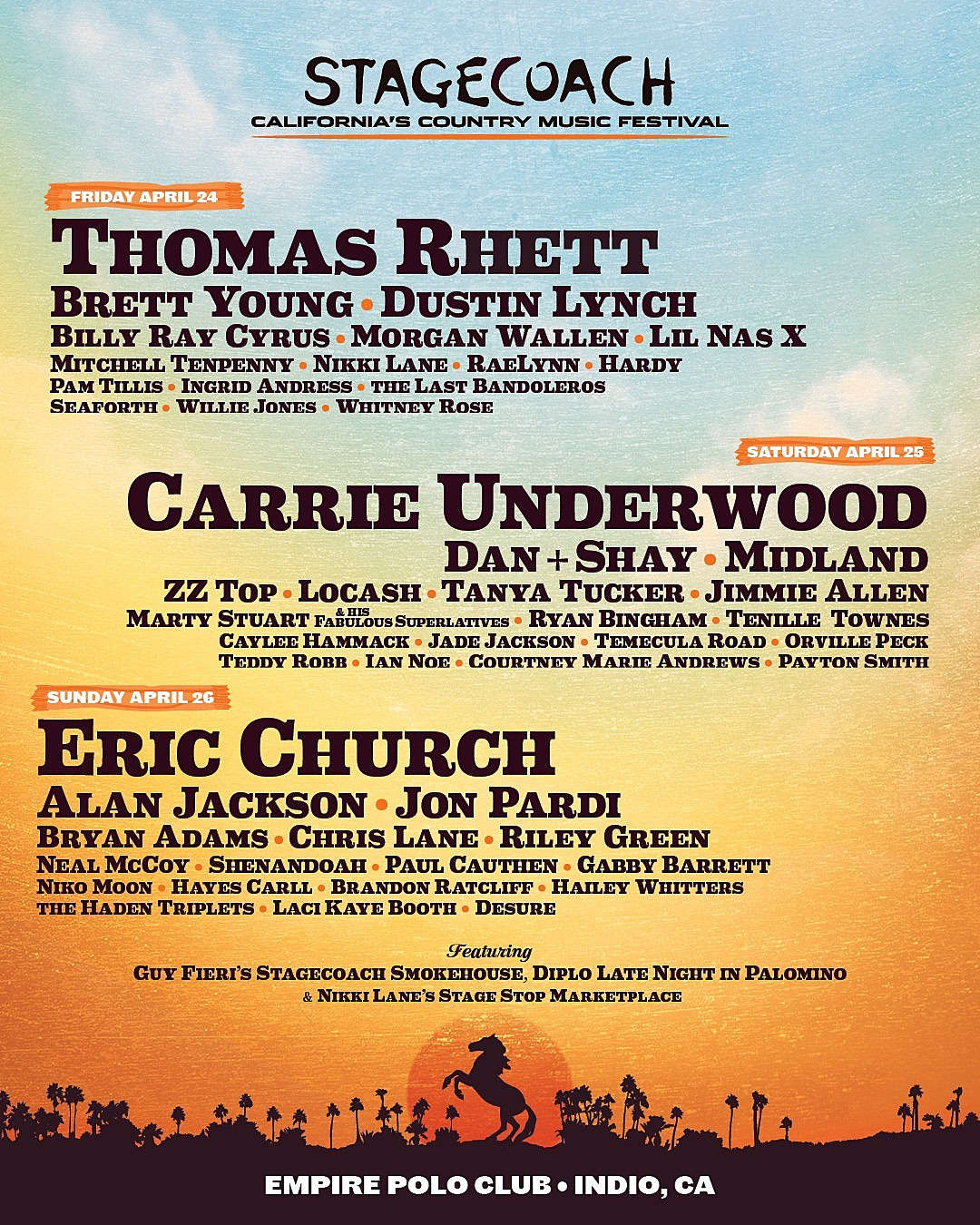 Stagecoach Country Music Festival 2020