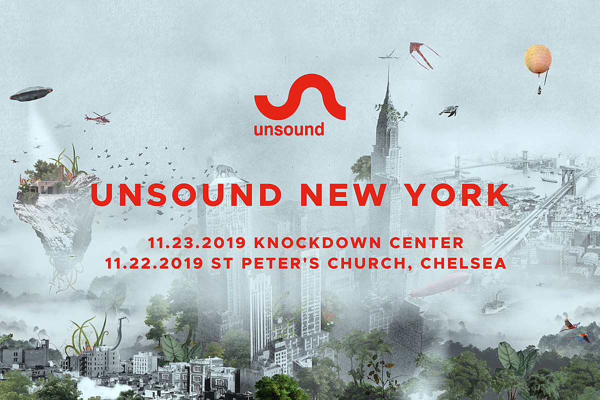 Unsound New York 2019 lineup (Tim Hecker, Liz Harris' Nivhek, The Bug, more)