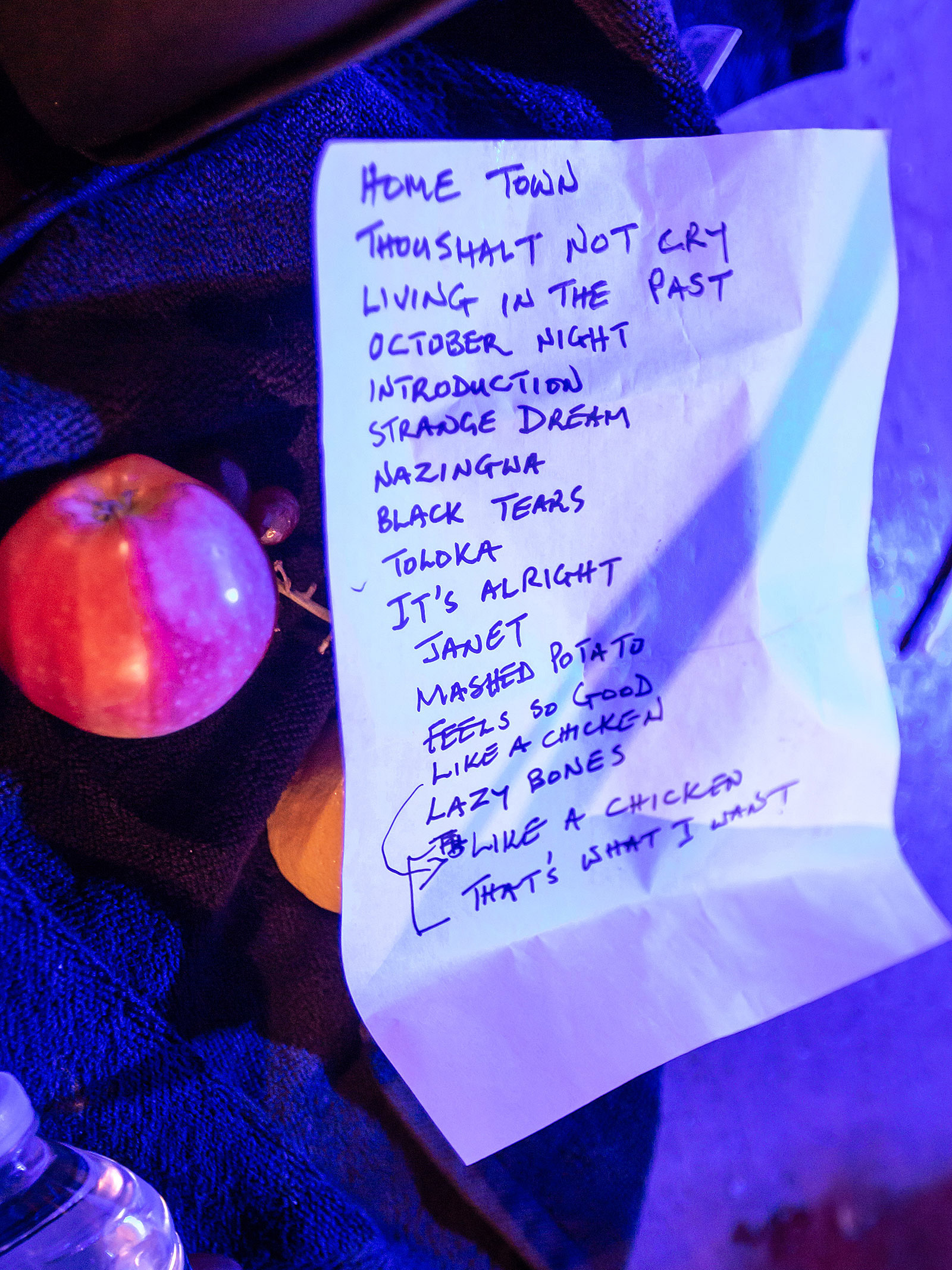 WITCH setlist Bell House 10/22/2019