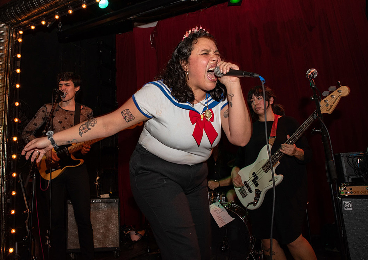 Downtown Boys, Clear Channel & Big Huge @ Union Pool (pics, review)