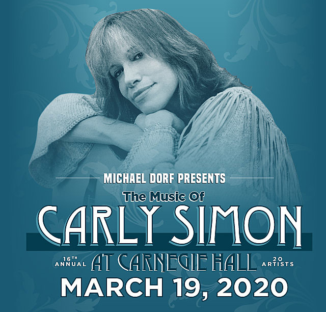 Carly Simon Tribute at Carnegie Hall