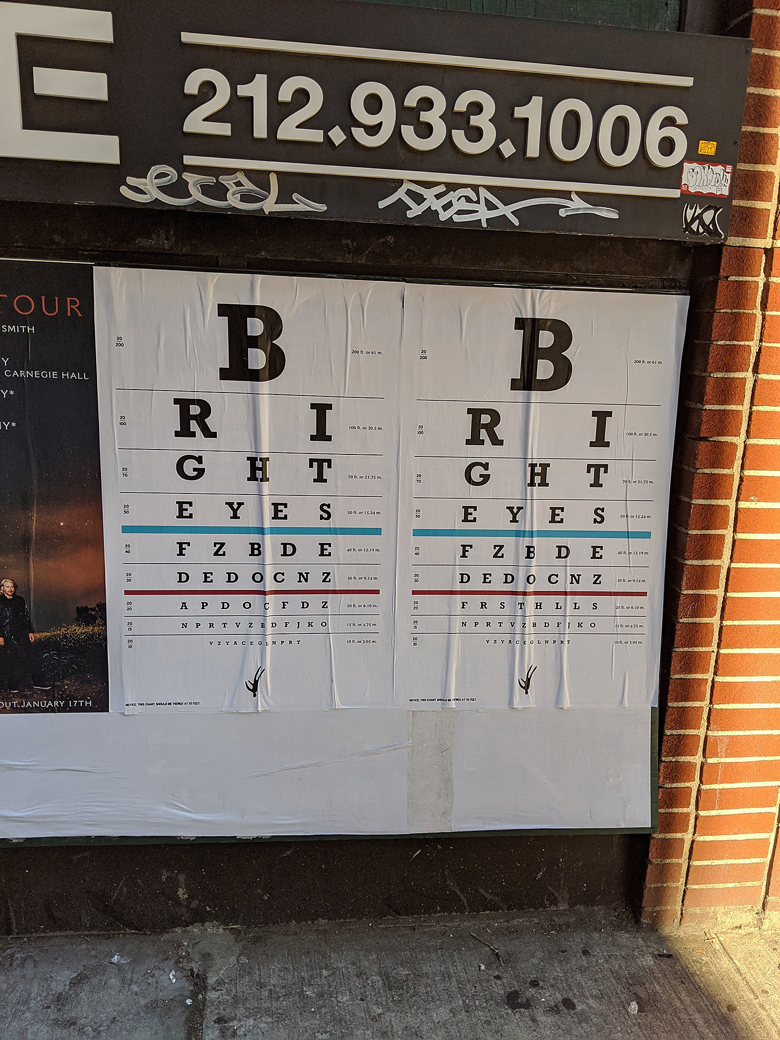 Bright Eyes teaser poster NYC