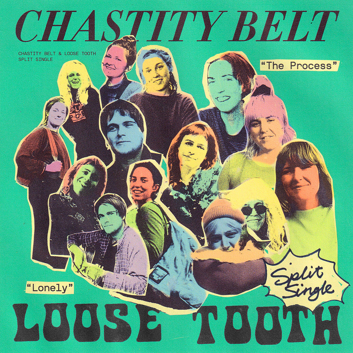 Chastity Belt Loose Tooth release split-7″ for upcoming North American tour