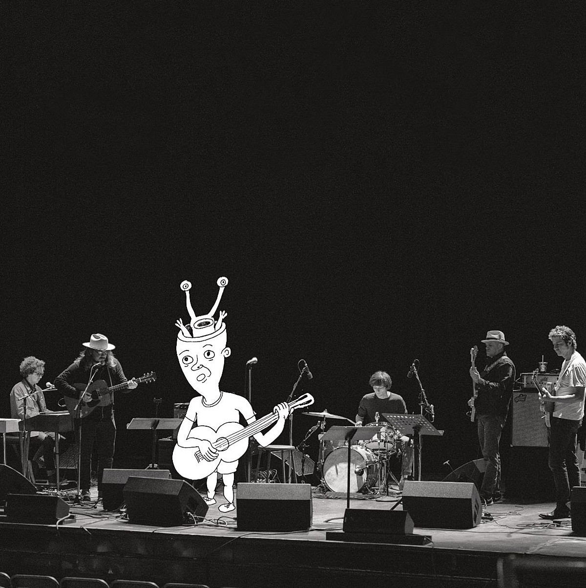 """Daniel Johnston Tweedy vinyl-only live album out this month (listen to """"Worried Shoes"""")"""