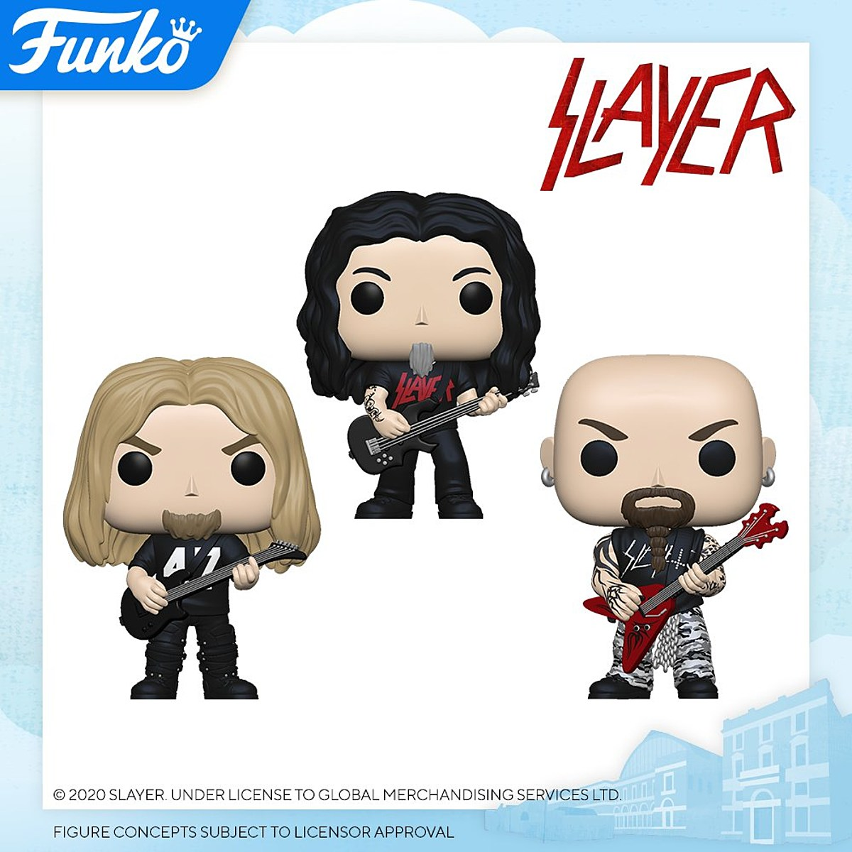 Slayer, Motorhead, Willie Nelson more becoming Funko Pops