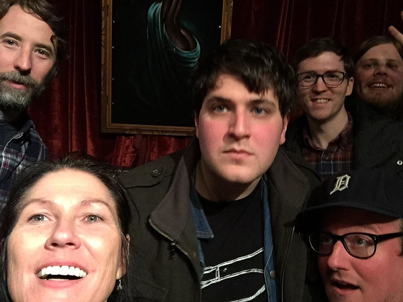 Kelley with Protomartyr back in 2014