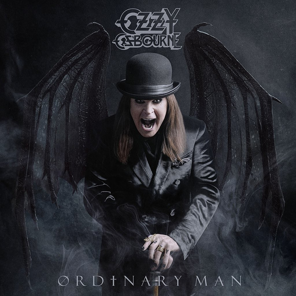 Ozzy OSbourne Ordinary Man cover art