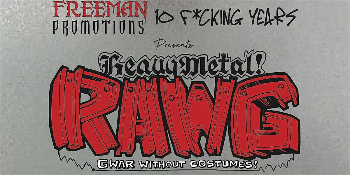RAWG (aka GWAR without the costumes) playing Saint Vitus in March