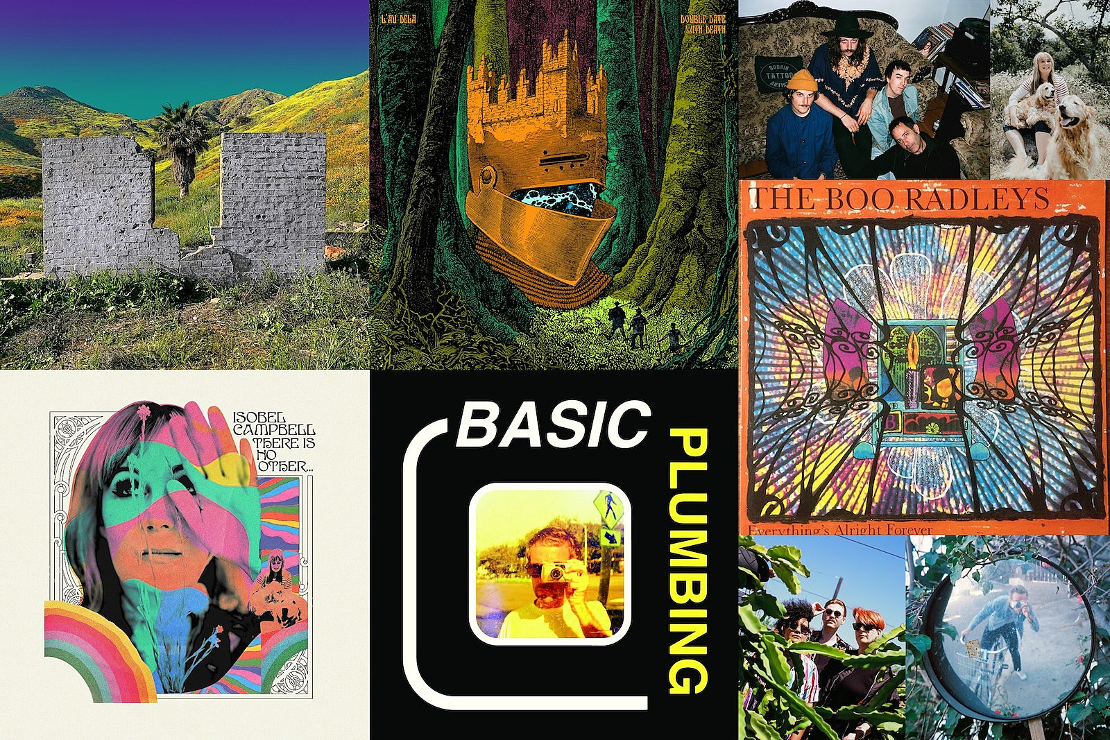 shopping, isobel campbell, double date with death, basic plumbing, the boo radleys