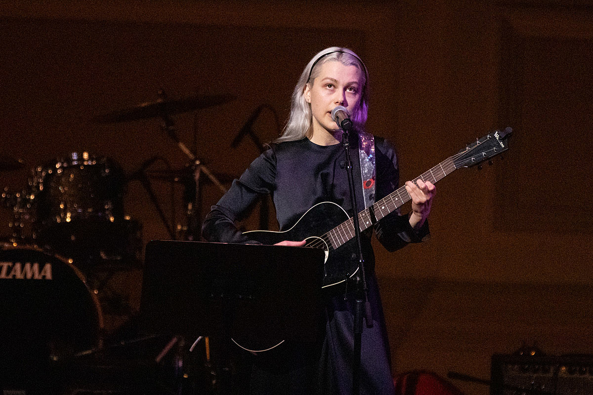 Phoebe Bridgers at the 2020 Tibet House Benefit at Carnegie Hall