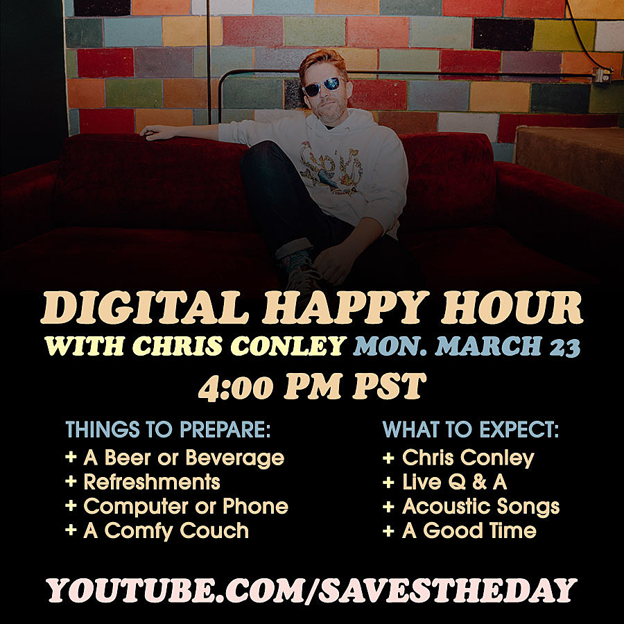 Saves the Day Digital Happy Hour