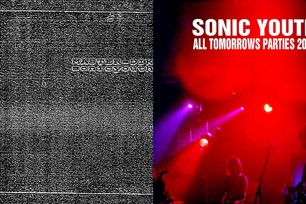 Sonic Youth add 'Master-Dik' EP & 'Live at ATP 2000′ to Bandcamp archive
