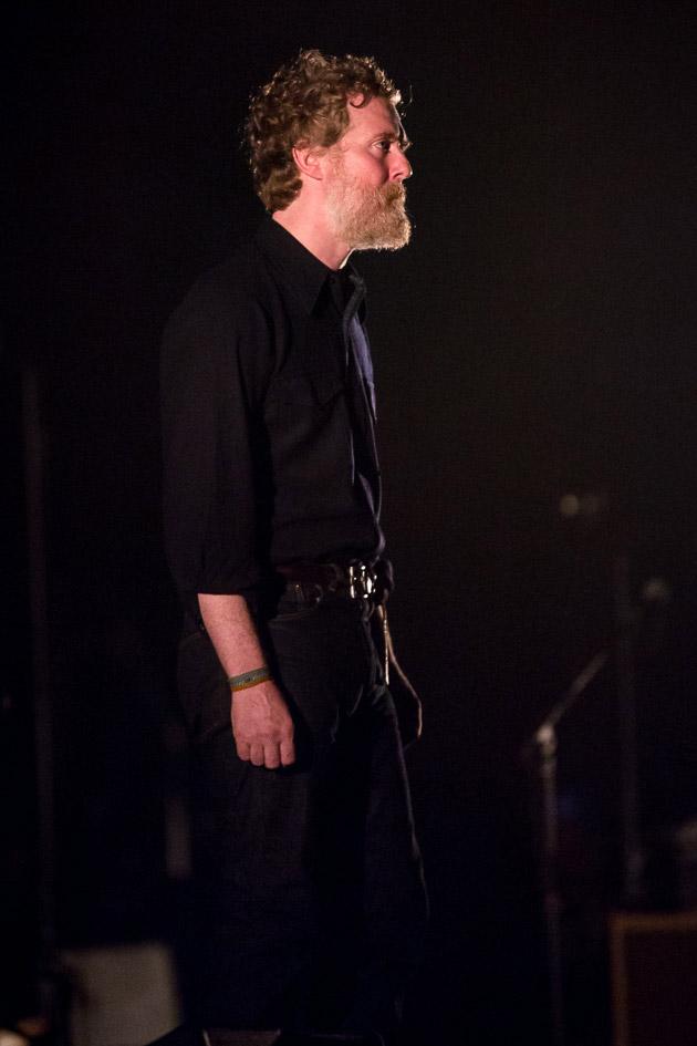 Glen Hansard played Kings Theatre with Richard Thompson