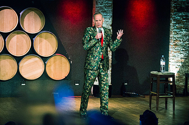 "pics: ""A John Waters Christmas"" @ City Winery"