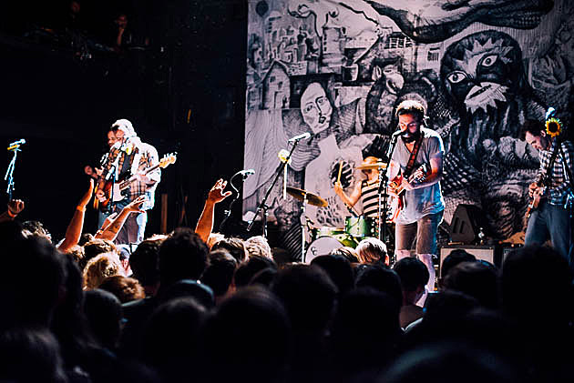 Mewithoutyou Kevin Devine Foxing Field Mouse Played Bowery