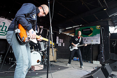 BrooklynVegan SXSW Friday Day Party - Red 7
