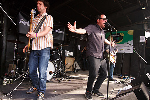 BrooklynVegan SXSW Saturday Day Party - Red 7