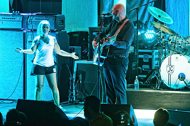Smashing Pumpkins got stage-rushed at PNC Bank Arts Center