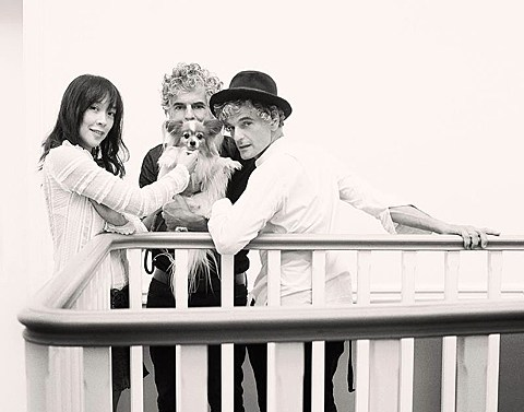 Blonde redhead shows