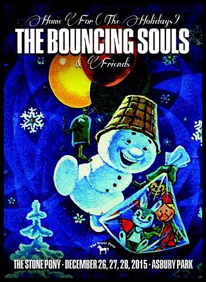 Bouncing Souls announce holiday shows, played w/ Leftover Crack who