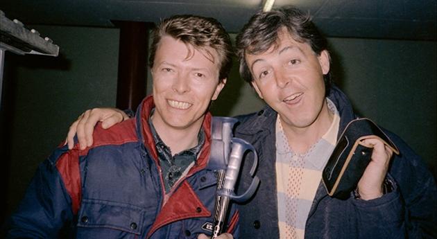 Paul McCartney David Bowie