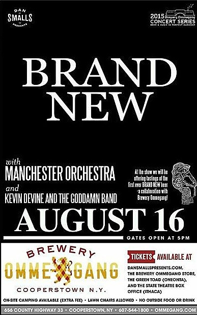 brand new expand tour announce cooperstown show with manchester orchestra kevin devine and. Black Bedroom Furniture Sets. Home Design Ideas