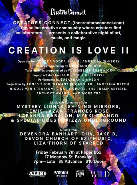 Creation Is Love