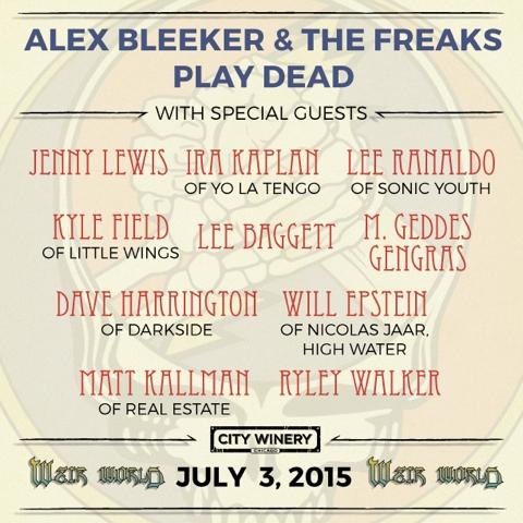 Jenny Lewis Grateful Dead Alex Bleeker