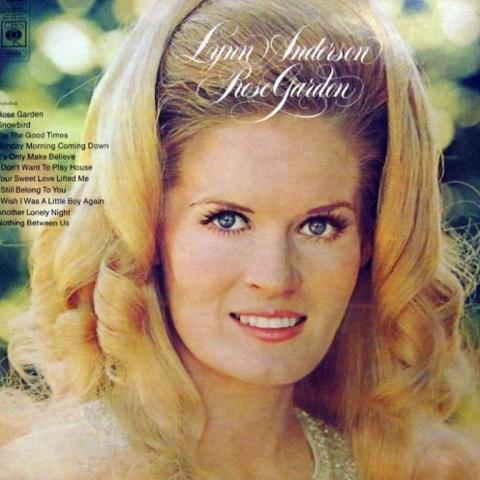 Lynn anderson passed away morrissey paid tribute for Lynn anderson rose garden lyrics