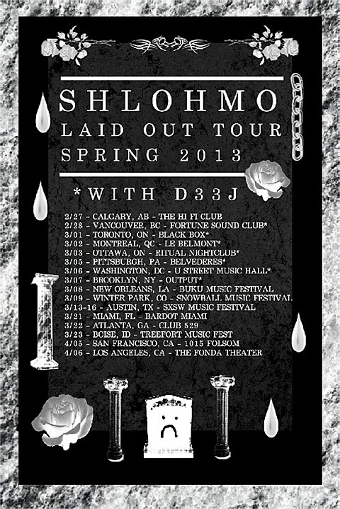 Shlohmo tour