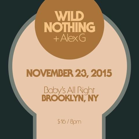 Wild Nothing Alex G