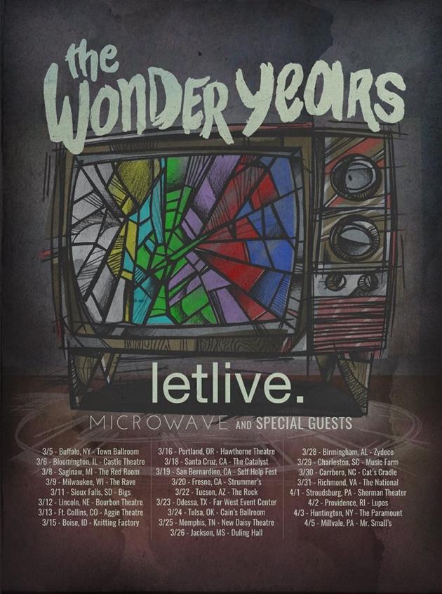 Letlive Tour Setlist