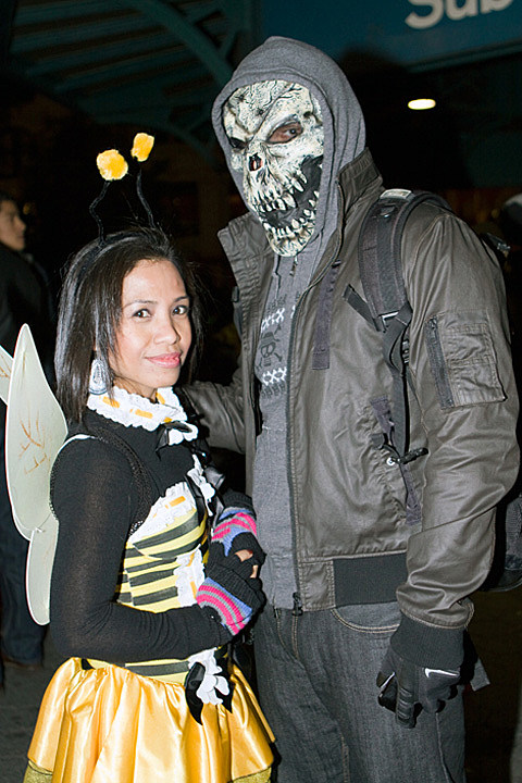 more Village Halloween Parade pictures